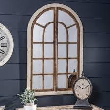 Ideas Design For Arched Window Mirror Arched Window Mirror Rustic Wayfair