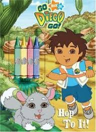 hop diego color chunky crayons golden books