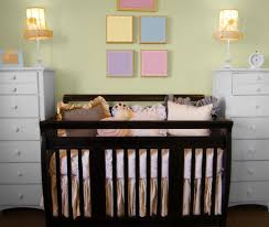 amazing nursery ideas for small spaces with grey stained wall