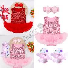 my christmas baby girl my christmas infant baby girl santa romper tutu dress