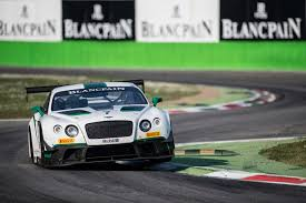 bentley racing green bentley continental gt3 takes first blancpain win