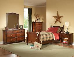 youth full bedroom sets brown cherry kids bedroom set he422 kids bedroom