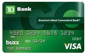debit card td bank launches debit card for philadelphia business journal