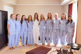 bridesmaid pajama sets getting ready what did will you do weddingbee