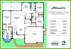 atlantis floor plan tracey homes swfl custom built homes