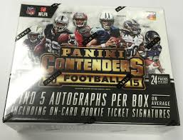 2015 panini contenders football cards preview checklist