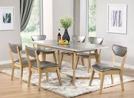 rosetta 72010 dining set in beige by acme w options