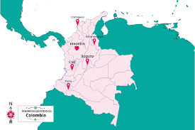 Venezuela Location On World Map by Where Is Medellin Located Medellincolombia Co