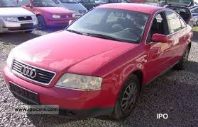 pink audi a6 1998 audi a6 2 4 technology top look bad car photo and specs