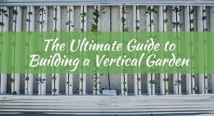Vertical Gardening by Here U0027s How To Build A Vertical Garden Djc Green Building Blog