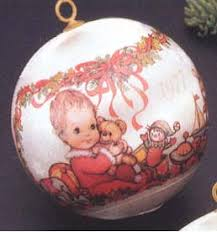 1977 baby s nb hallmark ornament at