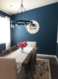 Dining Room Wall Paint Blue Meet Cassie An Introduction And Mini Home Tour Blue Dining