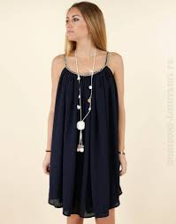 style boheme chic robe marine it hippie clémence horizons lointains