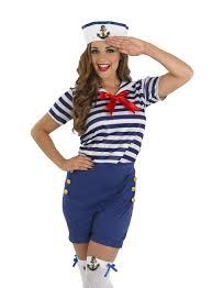 sassy sailor fancy dress costume