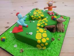in the night garden 2nd birthday cake cake by tastybakes