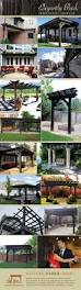 Backyard Business Ideas by Best 25 Black Pergola Ideas On Pinterest Pergola Patio Cover