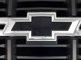 chevrolet silverado painted bowties insert replacements 2014 2015