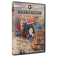 american experience reconstruction the second civil war dvd