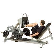 Body Solid Preacher Curl Bench Body Solid Lvlp Leverage Horizontal Leg Press