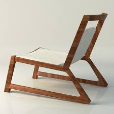 Modern Wood Chair Furniture 3d Modern Wooden Table And Chair Cgtrader