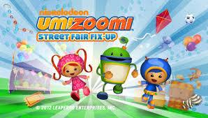 leapfrog app center team umizoomi street fair fix kids