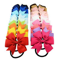 hair bow tie elastic hair ties elastic hair ties suppliers and manufacturers