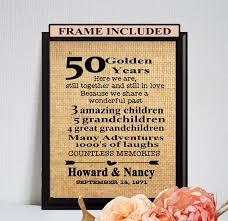 50th anniversary gift for parents the 25 best anniversary gifts for parents ideas on
