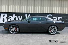 dodge challenger wheels dodge challenger with 22in savini bm14 wheels exclusively from