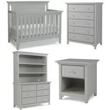 Pali Marina Forever Crib Wonderful Grey Crib And Dresser Set Storkcraft 2 Piece Nursery