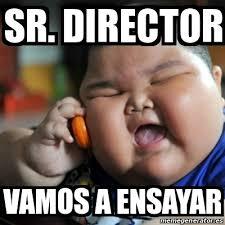 Director Meme - meme fat chinese kid sr director vamos a ensayar 14766507