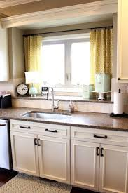 window treatment ideas kitchen favorable ideas kitchen window curtains ideas yellow kitchen