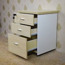 3 Drawer File Cabinet With Lock by Top Selling Modern Office Furniture Combination Lock 3 Drawer Wood