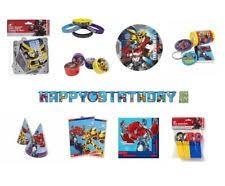 transformers birthday transformers birthday child party supplies ebay