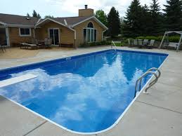 Deep Backyard Pool by Pool In Ground Pool Liners Deep Above Ground Pools Pool Liner
