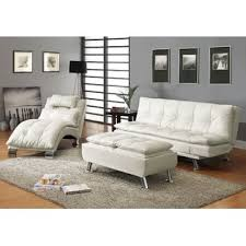 White Living Room Set White Living Room Sets You Ll Wayfair Within Leather Set