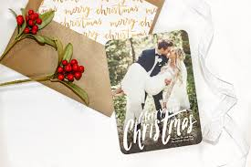 merry u0026 married our first christmas card as mr and mrs u2013 karlie rae