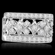 rings bands designs images Wide band diamond rings for women and men engagement bands jpg