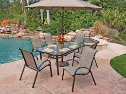 Patio Glass Table Glass Patio Table And Chairs Set Archives Formabuona