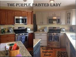 Kitchen Cabinet The Purple Painted Lady - Painting kitchen cabinet