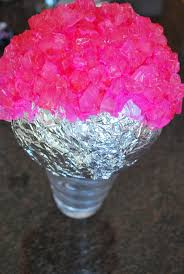 centerpieces with candy fête fanatic diy how to create rock candy topiary balls
