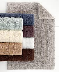 Hotel Collection Bathroom Rugs Hotel Collection Cotton Reversible Bath Rugs 100 Cotton Created