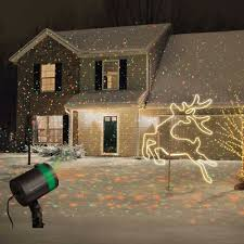 projection christmas lights bed bath and beyond set of 2 star shower laser light projectors outdoor christmas show