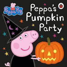 halloween pumpkin image peppa pig peppa u0027s pumpkin party amazon co uk ladybird