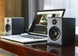 audioengine a2 powered desktop speakers a2 b