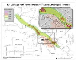 Frankenmuth Michigan Map by The Strong Tornadoes Of March 15th 2012