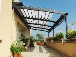 Metal Pergola With Canopy by Pergola Design Ideas Pergola Retractable Shade Best Construction