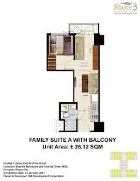 the shore floor plan shore 3 residences preselling condominium for sale in pasay