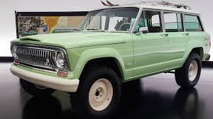 jeep grand wagoneer concept the jeep wagoneer roadtrip is what happens when you take an old jeep