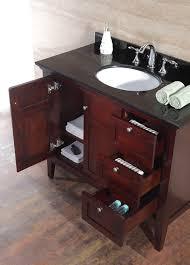 ove decors gavin 42 bathroom 42 inch vanity ensemble with black