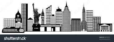 new york clipart new york skyline clipart color pencil and in